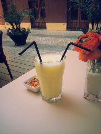 Cafe Berlin: Дынный сок