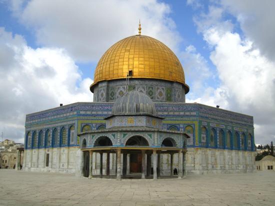 Cúpula de la Roca (al-Haram al-Sharif): Mosque buiding