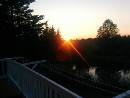 Engadine, MI: Sunset at Night