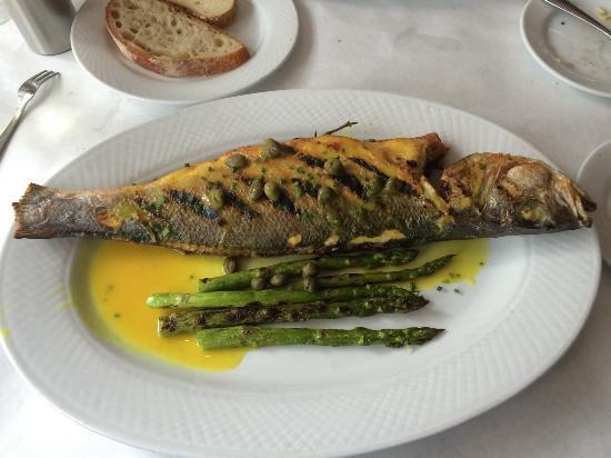 Brazino on the bone mediterranean sea bass picture of for Fish and bone restaurant