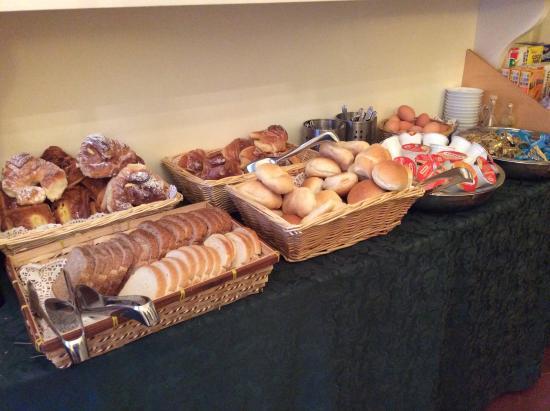 Hotel Fontanella Borghese: Frukost