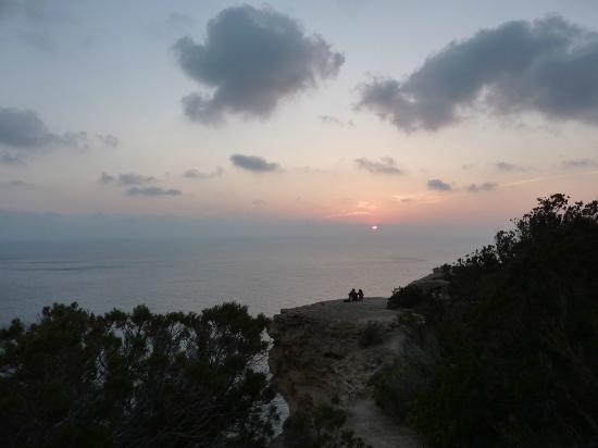 Apartamentos Atlas: Puesta de sol en Es Verdà