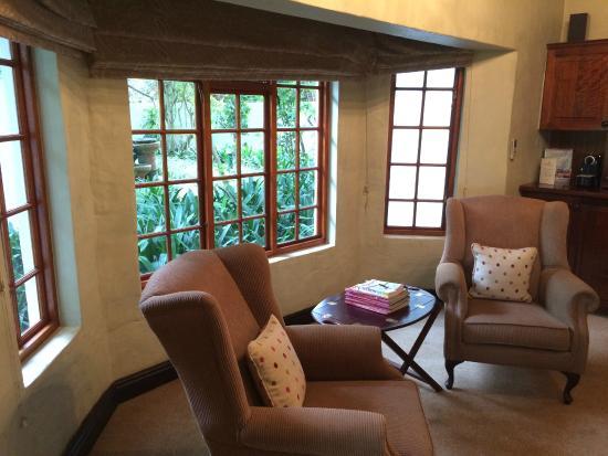 Addo, Sudáfrica: Sitting area
