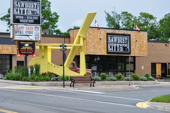 Photo of Brewery Sawdust City Brewing Co at 397 Muskoka Rd N, Gravenhurst P1P 1G3, Canada
