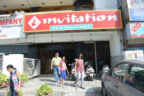 Entrance to invitation picture of invitation restaurant haridwar invitation restaurant entrance to invitation stopboris Images