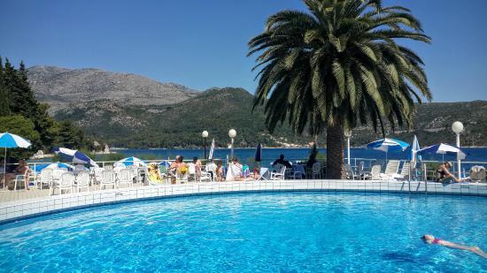 Slano, Croatia: Swimming basin