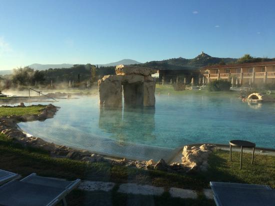 Piscina Con Cascata Foto Di Hotel Adler Thermae Spa Relax Resort