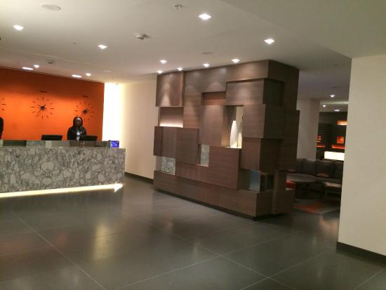 Lobby 2nd Floor Picture Of Residence Inn New York