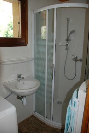 Salle de bain chalet - Photo de Les Cimes du Valgo, La Chapelle-en ...