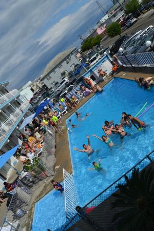 Quebec Motel By-The-Sea: Great Pool & View