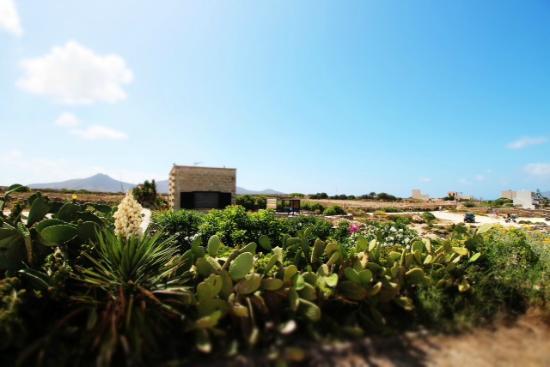Villa le calette: Vista dal parcheggio