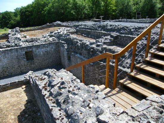 Rochefort, Belgio: Roman Villa ruins