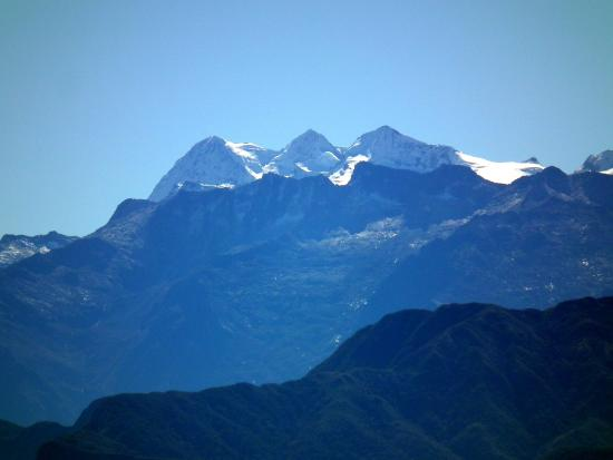 the highest mountains in colombia picture of sierra nevada de