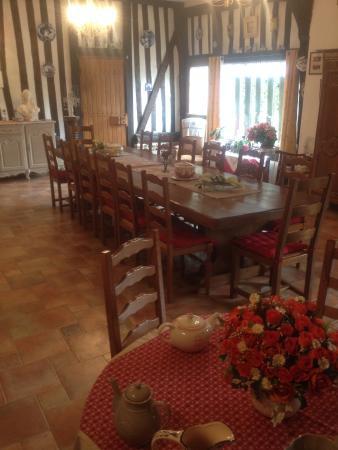 La Grange St Léger : Salle des petits déjeuners