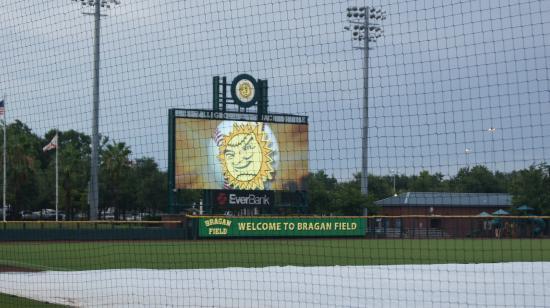 Baseball Grounds of Jacksonville: Pregame time!