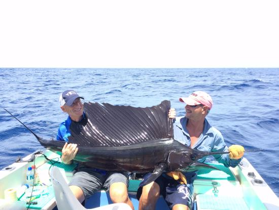 Playas del Coco, Costa Rica: 6/25/15 fishing in Costa Rica