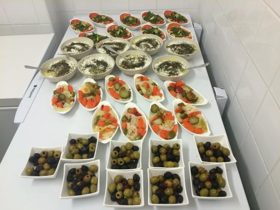 Some of our cold starters picture of akdeniz turkish for Akdeniz turkish cuisine