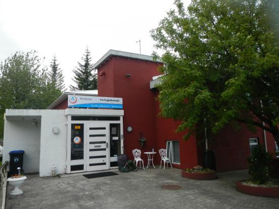 Hostel Selfoss: Entrance