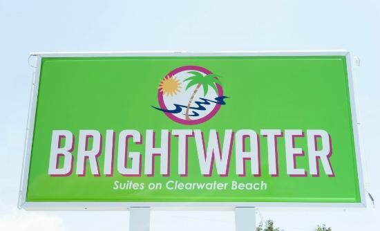 Brightwater Suites on Clearwater Beach: Marquee