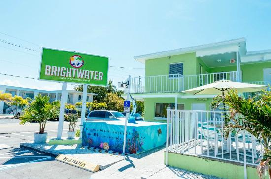 Brightwater Suites on Clearwater Beach : Front office area