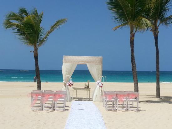 Beach Wedding Picture Of Hard Rock Hotel Punta Cana