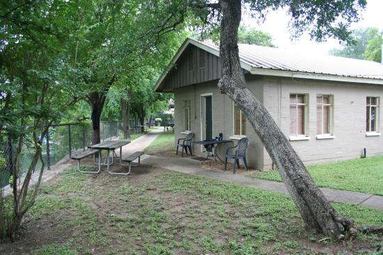 View of the comal river from our yard picture of the - 2 bedroom suites in new braunfels tx ...
