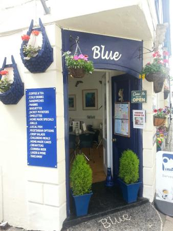 Mevagissey, UK: Blue