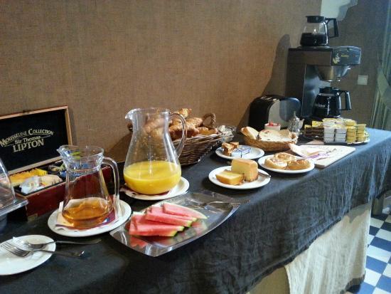 Hotel Boterhuis: Desayuno