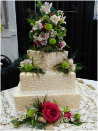 Lancaster, WI: Wedding cakes made to order.