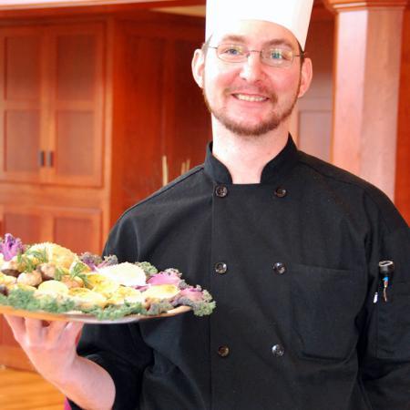 Egg Harbor, วิสคอนซิน: Chef Fred Menger.