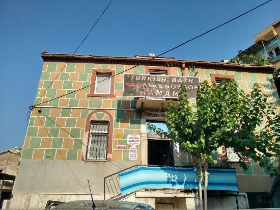Tarihi Karatas Hosgor Hamamı