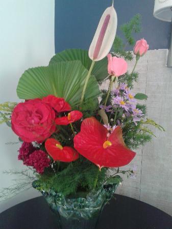 Pousada Casa de Abrahao : Arranjo de flores locais em MOMENTOS ESPECIAIS