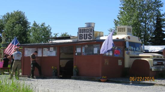 Burger Bus: The old bus