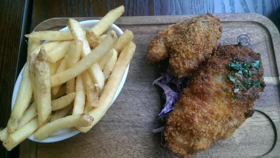 The Northern Quarter Restaurant & Bar (TNQ): Chicken n chips very special