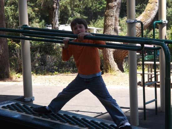 Brookings, Oregón: Playground