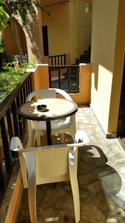 Hotel Pergamos Village: balcone