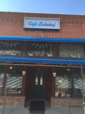 Waynoka, OK: The quaint Cafe Bahnhof