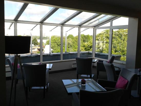 Club Lounge Picture Of Crowne Plaza Hamburg City Alster Hamburg Tripadvisor