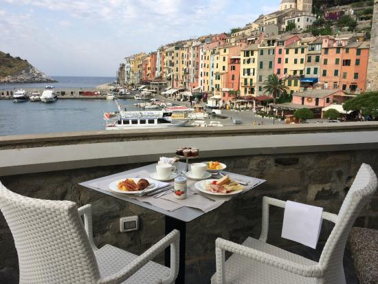 Breakfast Buffet Picture Of Grand Hotel Portovenere Porto Venere Tripadvisor