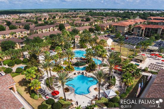 Aerial View 1 Picture Of Regal Palms Resort Spa Davenport