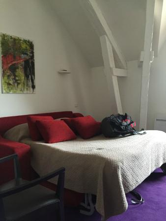 Duplex Loft Bed Pull Out Couch Open To First Floor Picture Of