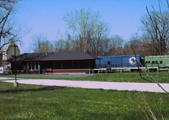 New Buffalo Railroad Museum: Pere Marquette Train Depot and Chessie Boxcar