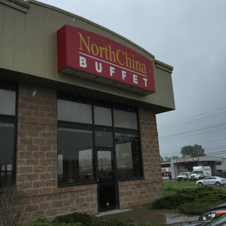 North China Buffet: Here's where you park and enter the restaurant
