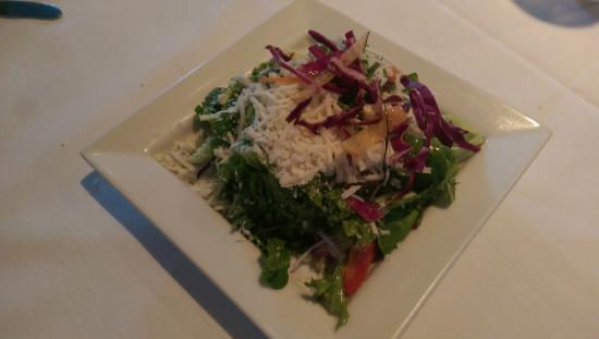Nino's Italian Restaurant: House greens salad - lots of yummy things going on here