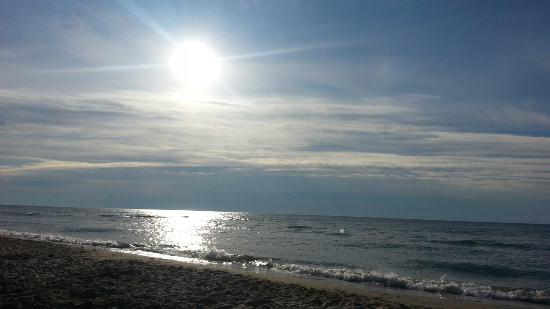 Harrisville State Park: Sunrise over Lake Huron