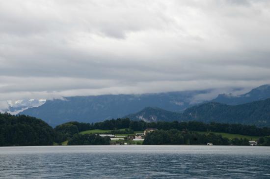 Gasthaus zum Kreuz: Озеро