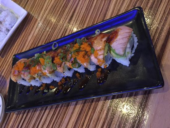 """Mikuni Japanese Restaurant and Sushi Bar: """"Japanese mafia"""" sushi. Try the freaky edemami!"""