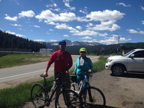 Vail Recreation Path: Vail Pass to Frisco downhill ride