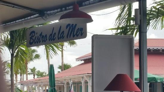 Marigot, Guadalupe: Le Bistro de la Mer