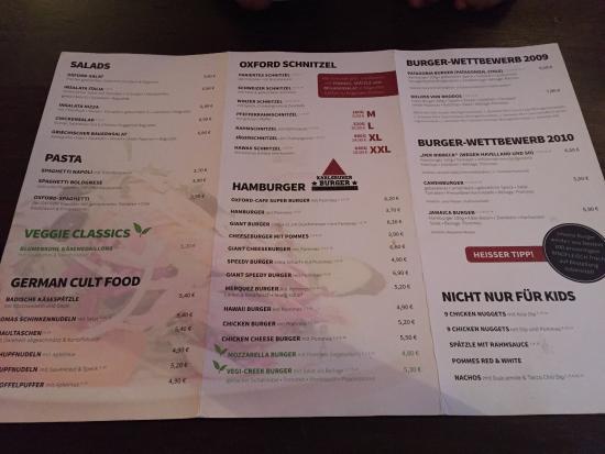 Nice Enviroment And Food Bild Von Oxford Café Karlsruhe Tripadvisor
